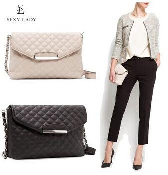 Женщин сумки 2014 манго мода PU кожи женщин сумки на ремне женщины кожаные сумки + дизайнер Crossbody цепи сумки прямая поставка
