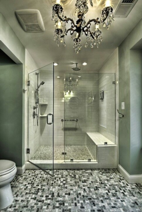 Amazing shower home design style i love pinterest for Amazing bathroom designs