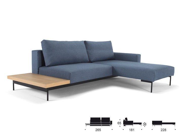 BRAGI Sofa Schlafsofa Mit Beistelltisch | Innovation