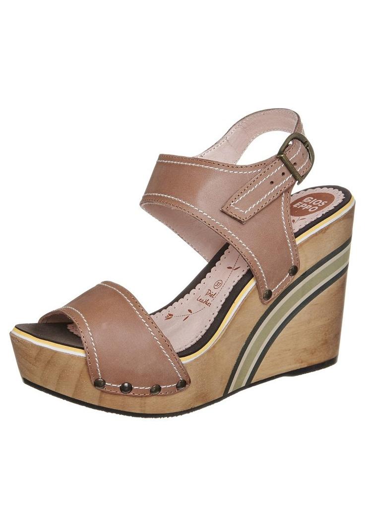 Gioseppo - CALDEA - Sandalen met hoge hak - Bruin