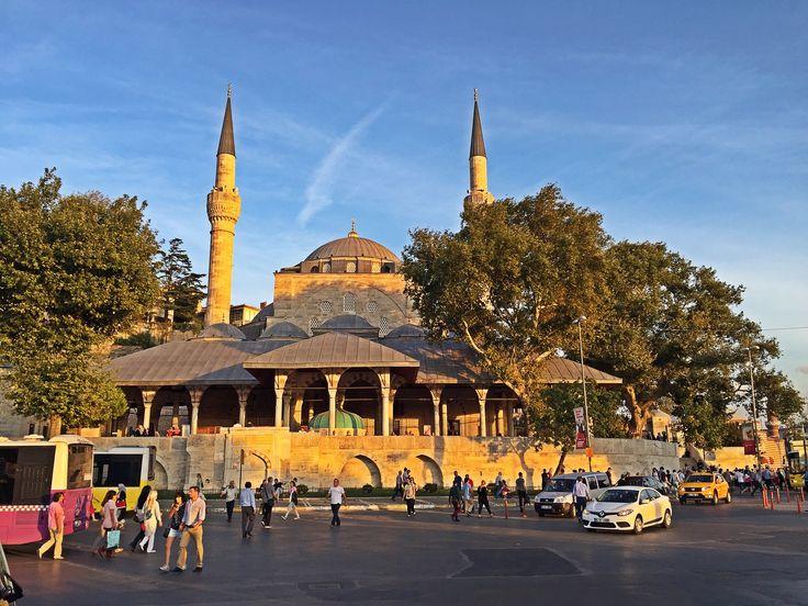 #üsküdar #mihrimah sultan camii akşam üstü