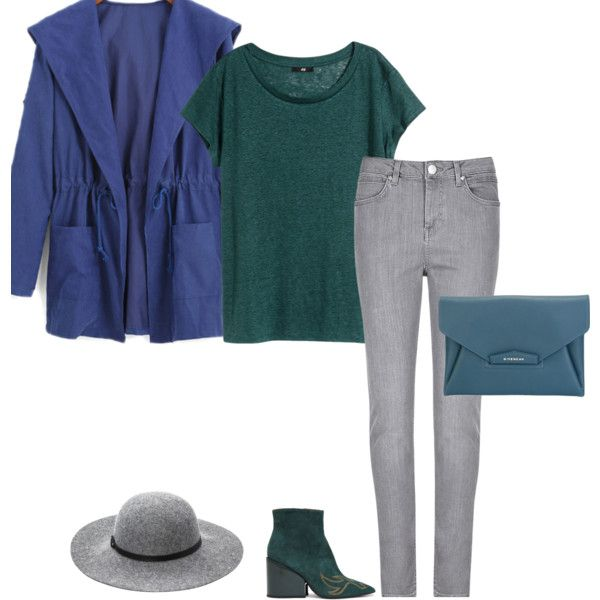 The colors of this outfit come straight from the cool winter color palette. I styled this color combo based on an analogous color scheme. This means that the blue, teal and green are next to each other on the cool winter color wheel.  Keep your colors cool. Notice your royal blue is a fairly brigh