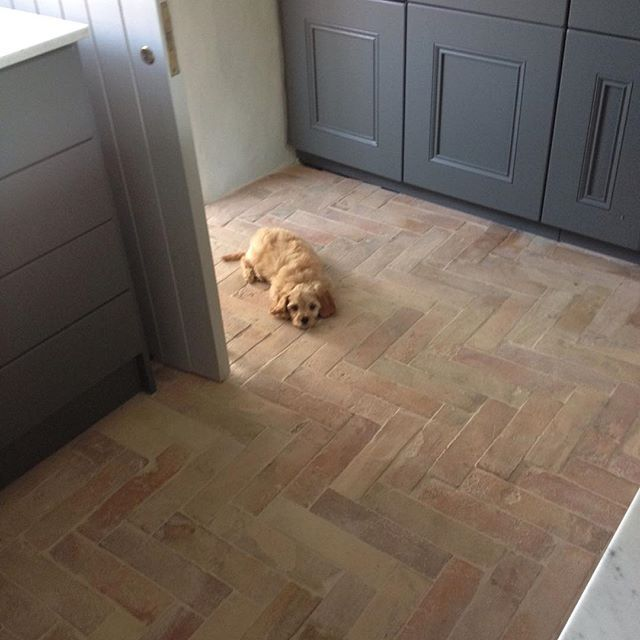 Best 25 Brick tile floor ideas on Pinterest Brick floor kitchen