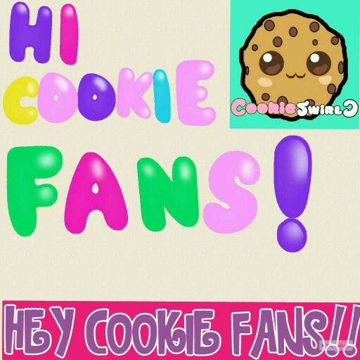 This pin goes to COOKIE SWIRL C! I made this! Me and my bff love you!!