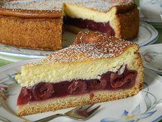 Kirschkuchen mit Schmandhaube – Kuchen / Torten