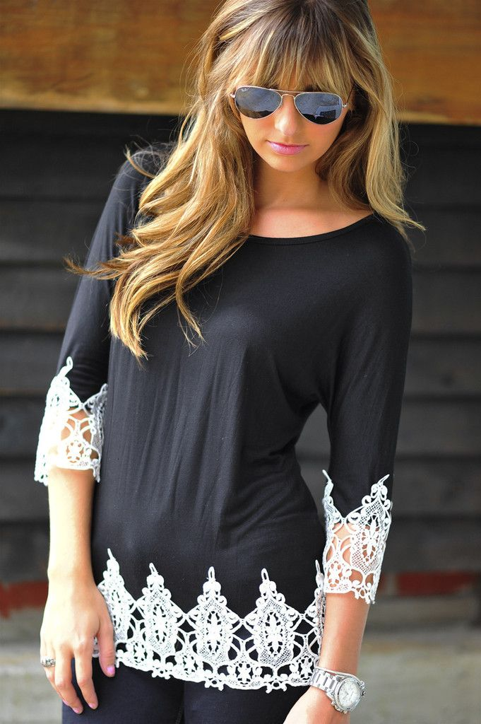 A Touch Of Class Top: Cute!
