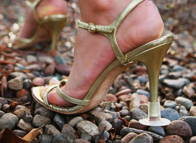 Heels Above - another solution for heels in grass or uneven surfaces