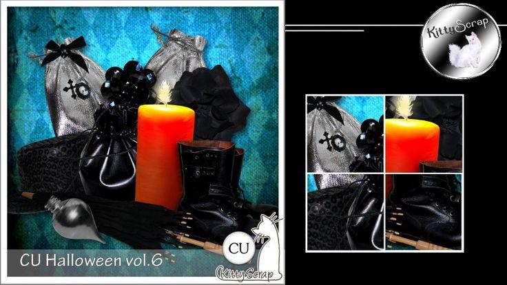 CU halloween vol.6 by KittyScrap