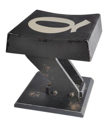 SUBSTATION Keyboard Stool Gunmetal