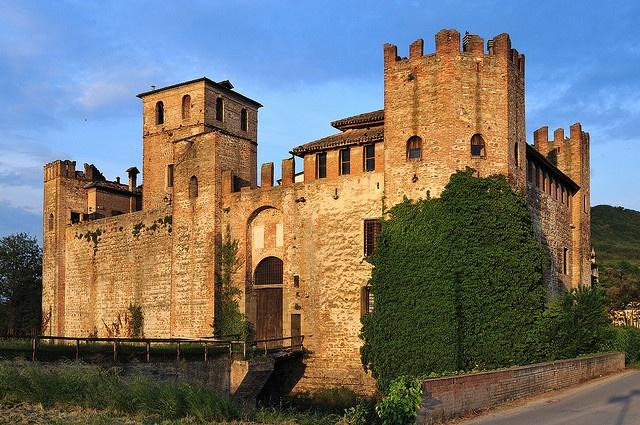 Medieval Valbona Castle (north Italy)