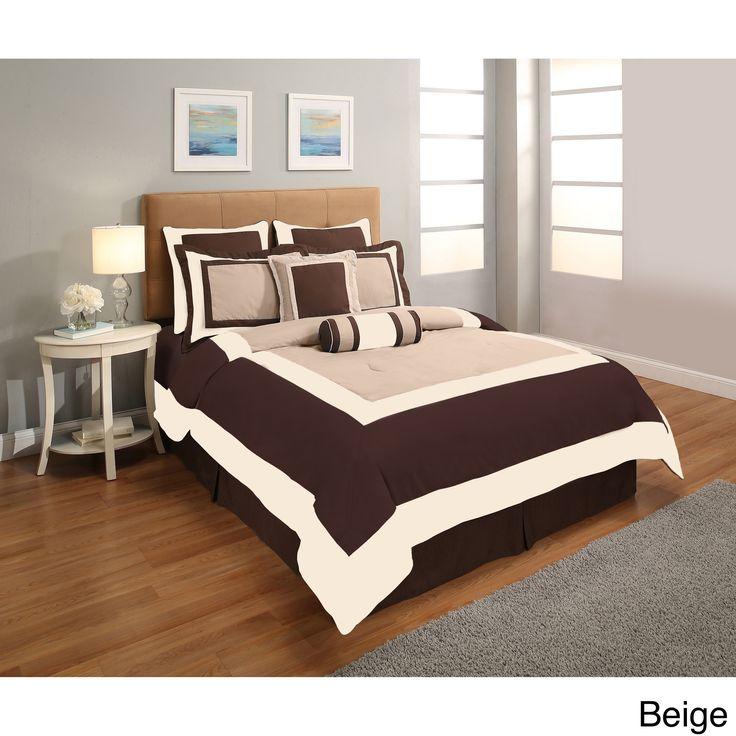 Super Hotel 8-piece Comforter Set
