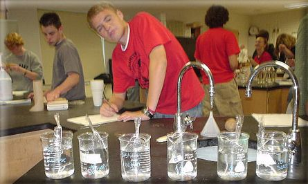 This website includes a list of experiments which teachers can use to help the students learn about the scientific method. Also includes ways to teach students about microscopes and other lab equipment