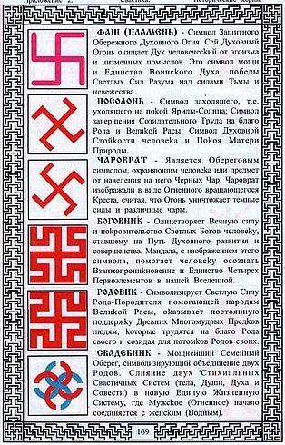 Славяно-арийская символика в одежде и быту