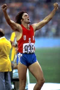 Bruce Jenner 1976 Olympics  Gold Medal in Decathalon - attended the first day of the decathalon
