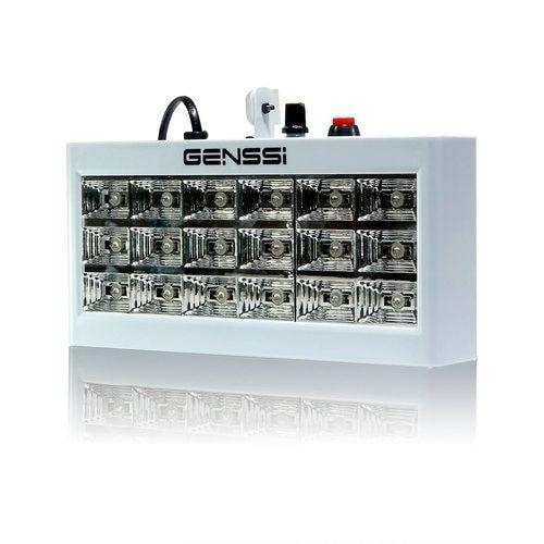 LED Strobe Light 18W RGB DJ Party Compact w/Sound Function