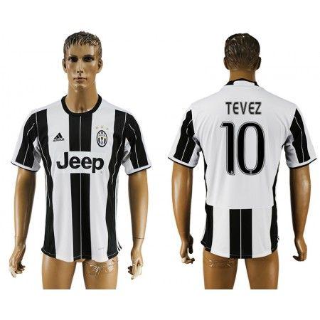 Juventuss 16-17 #Tevez 10 Hemmatröja Kortärmad,259,28KR,shirtshopservice@gmail.com