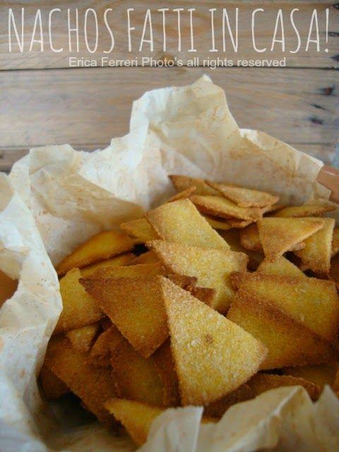 Ogni riccio un pasticcio - Blog di cucina: Nachos fatti in casa con salsina messicana! (perfetti per il forno o per friggere)