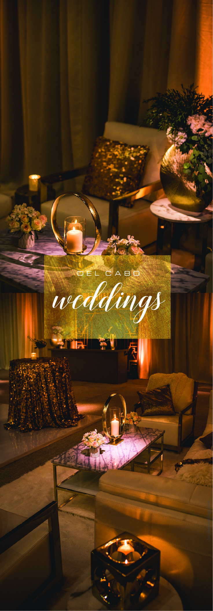 Del Cabo Weddings is a wedding planning design firm that will plan, design and execute the destination wedding you always dreamed of!