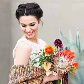 Whimsical flower crowns, stunning lace veils and gorgeous bridal updos that you need to copy, stat