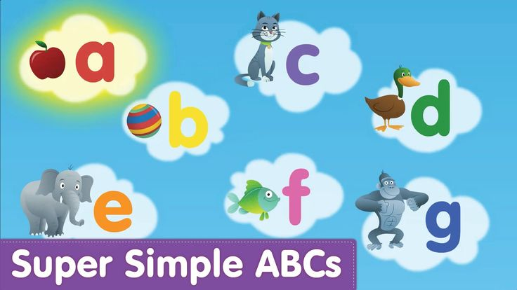 Phonic Alphabet - song and images - Super Simple Songs