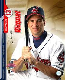 Omar Vizquel, my favorite Cleveland Indian's player when I was little.
