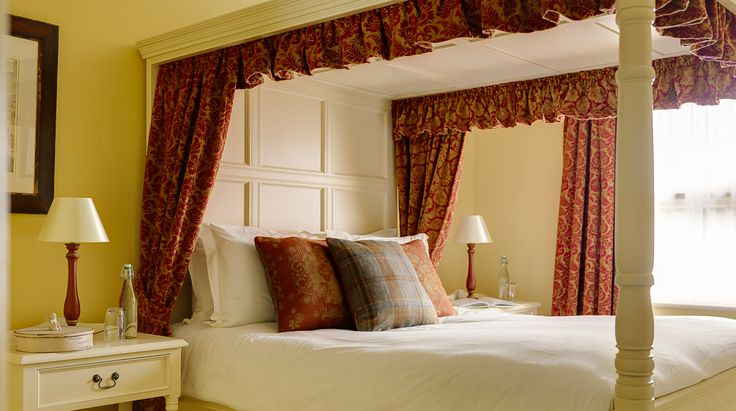 One of our boutique bedrooms #conynghamarms #boutiquebedroom #decor #hotel #slane #bedroom #bed
