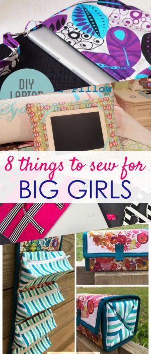 8 cosas para coser para una chica del siglo XXI