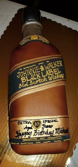 scotch bottle cake by gr8chefmrd, via Flickr
