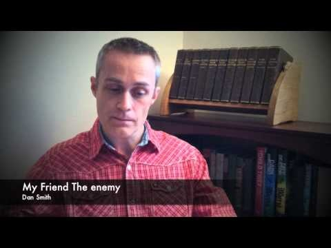 Dan Smith - Reading from My Friend The Enemy - YouTube