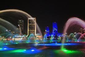The beautiful Riverwalk in the wonderful city of Jacksonville Florida