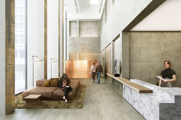 residential tower lobby - Google Search                                                                                                                                                                                 More