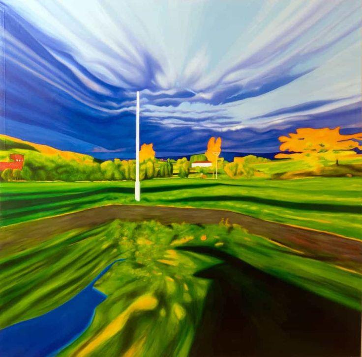 Landschaftsmalerei - Online Shop für Gemälde, Gemäldekopien, abstrakte und moderne Acrylbilder kaufen. Bilder malen lassen. 100 % Zufriedendheitsgarantie