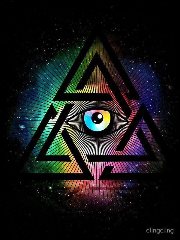 Enjoy Millions Of Unique Designs By Independent Artists Find Your Thing El Ojo Que Todo Lo Ve Simbolos Illuminati Tatuaje De Horus