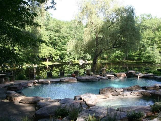 24 best images about rustic back yard dream on pinterest for Rustic pools