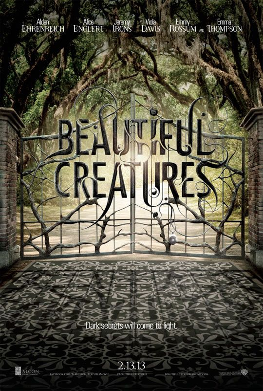 Beautiful Creatures (2013) - Seriously love this movie. Have the book, just haven't read it yet.