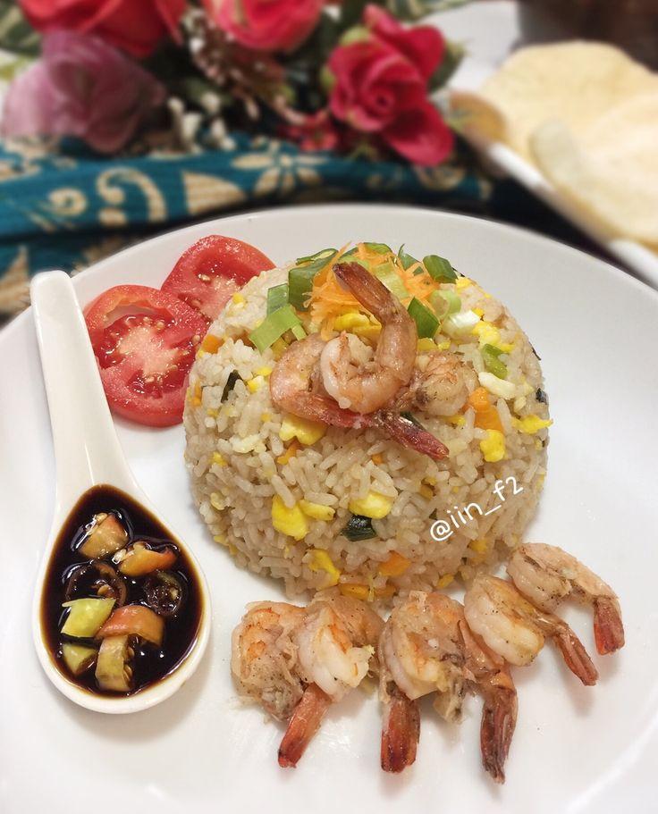 Nasi Goreng Udang-Terangkat