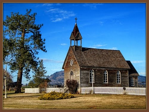 Vernon, BC...the Okeefe Ranch Historic site