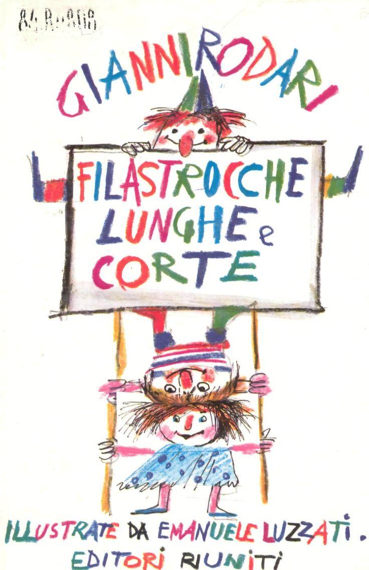 Emanuele Luzzati - Filastrocche lunghe e corte (Gianni Rodari)