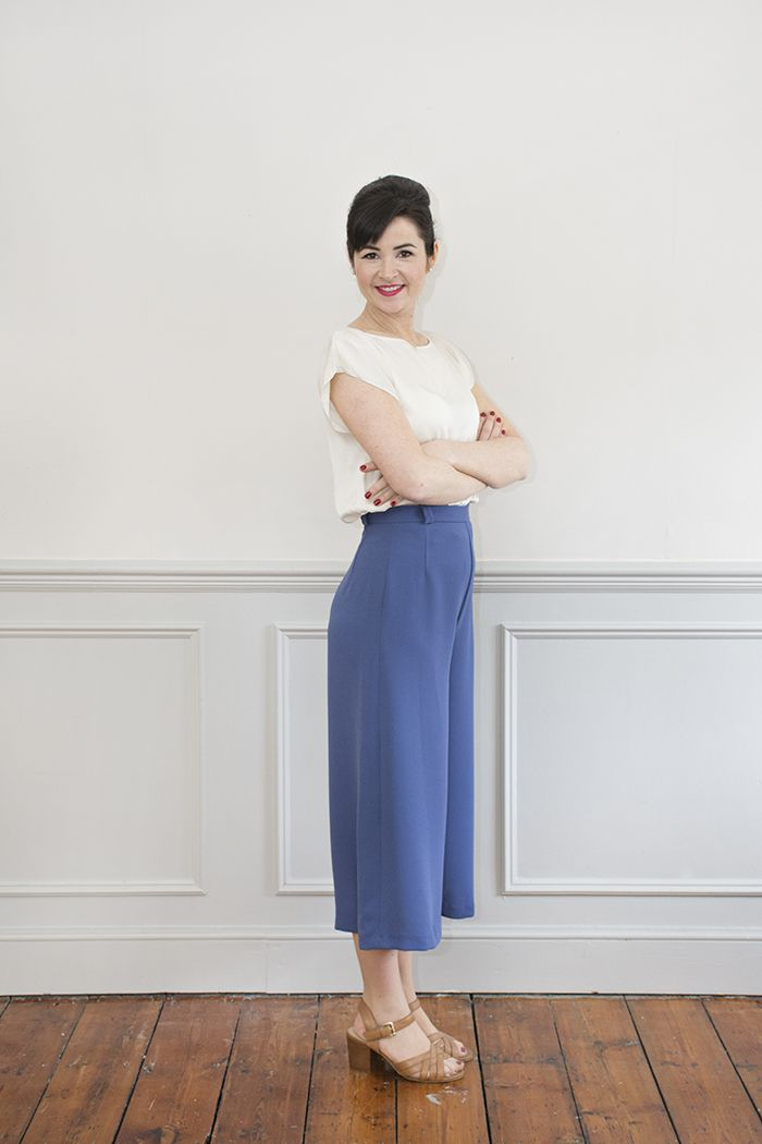 Ultimate Culottes PDF Sewing Pattern | Ultimate Culottes Sewing ...