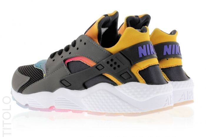 Nike Huarache Black Yellow
