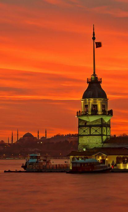 Kiz Kulesi, Istambul, Turkey