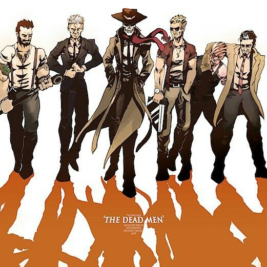 Skulduggery Pleasant and the Dead Men - because only they can come back alive from a suicide mission