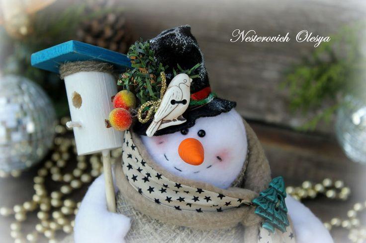снеговик,рождество,новый год