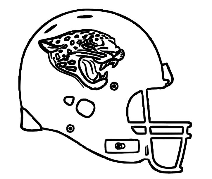 Jacksonville Jaguars Helmets Pin by Adela Gonza on kids coloring pages | Pinterest