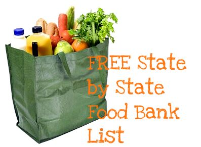 FREE State By State Food Bank List: Get FREE Help With Groceries