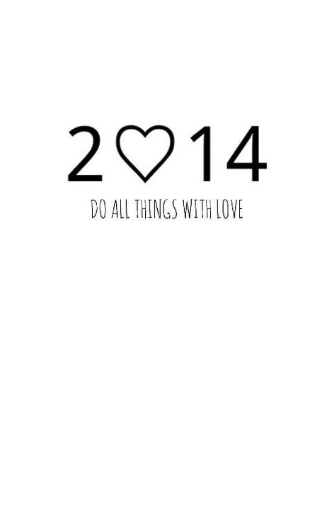 2014 with love
