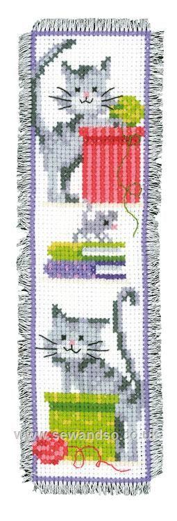 Bookmark gatitos