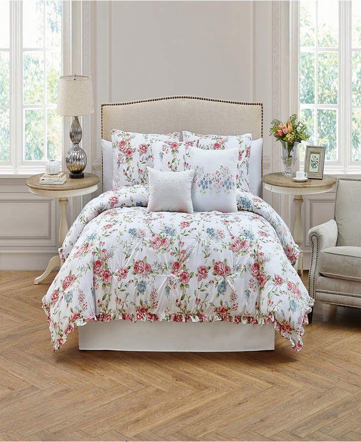Rosette 7 Piece Comforter Sets