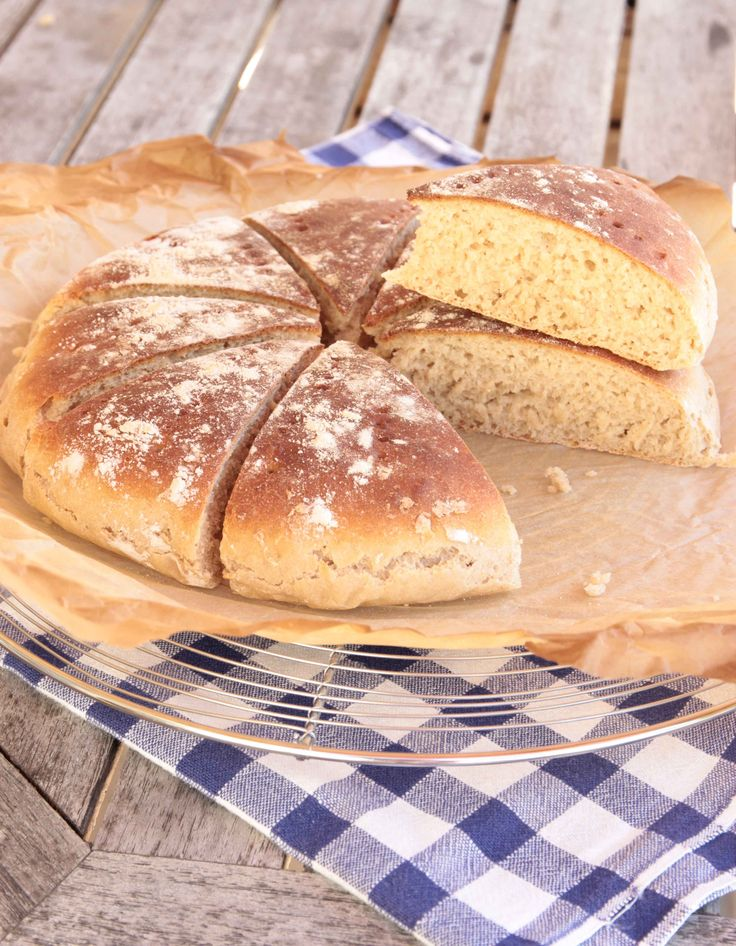 Enkla frukostbrödet i form