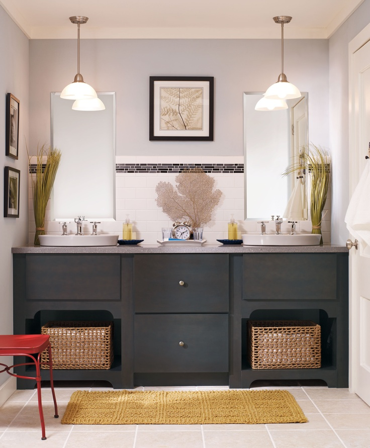 83 best bathroom cabinets images on pinterest